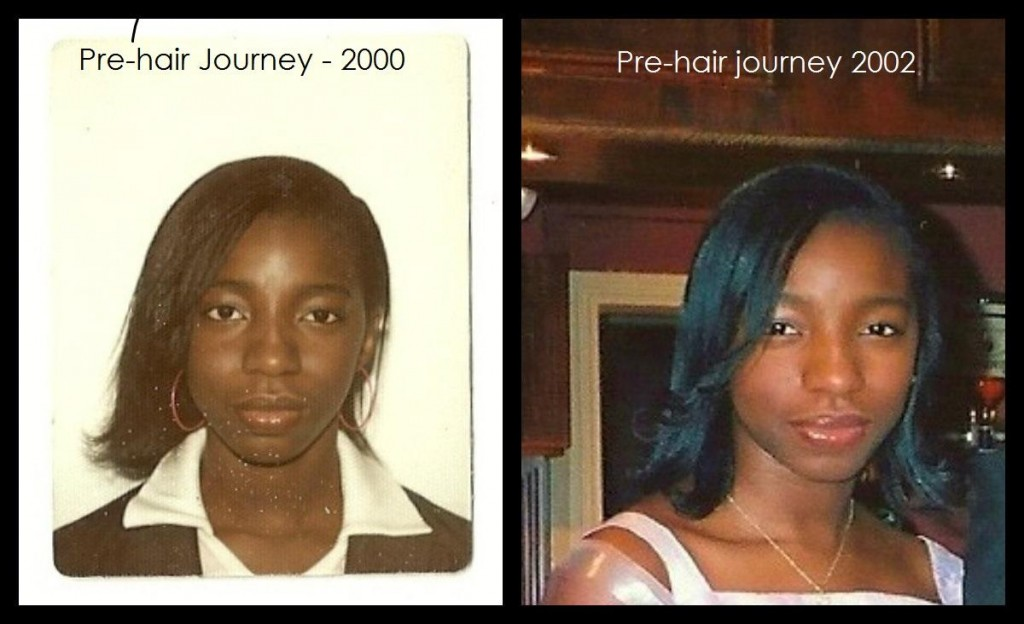 How i grew 2 -pre hair journey 2000