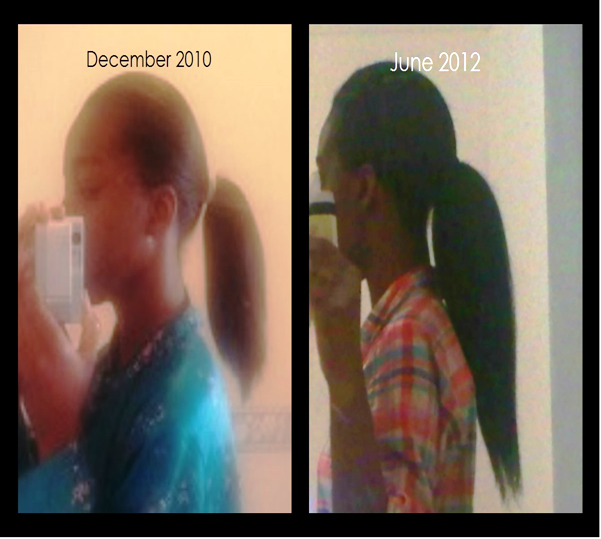 How i grew my Hair