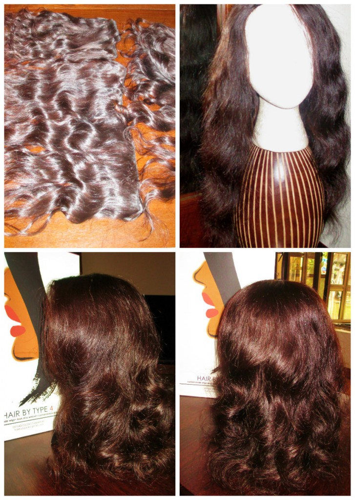 Hair by Type4 Custom Wig 2