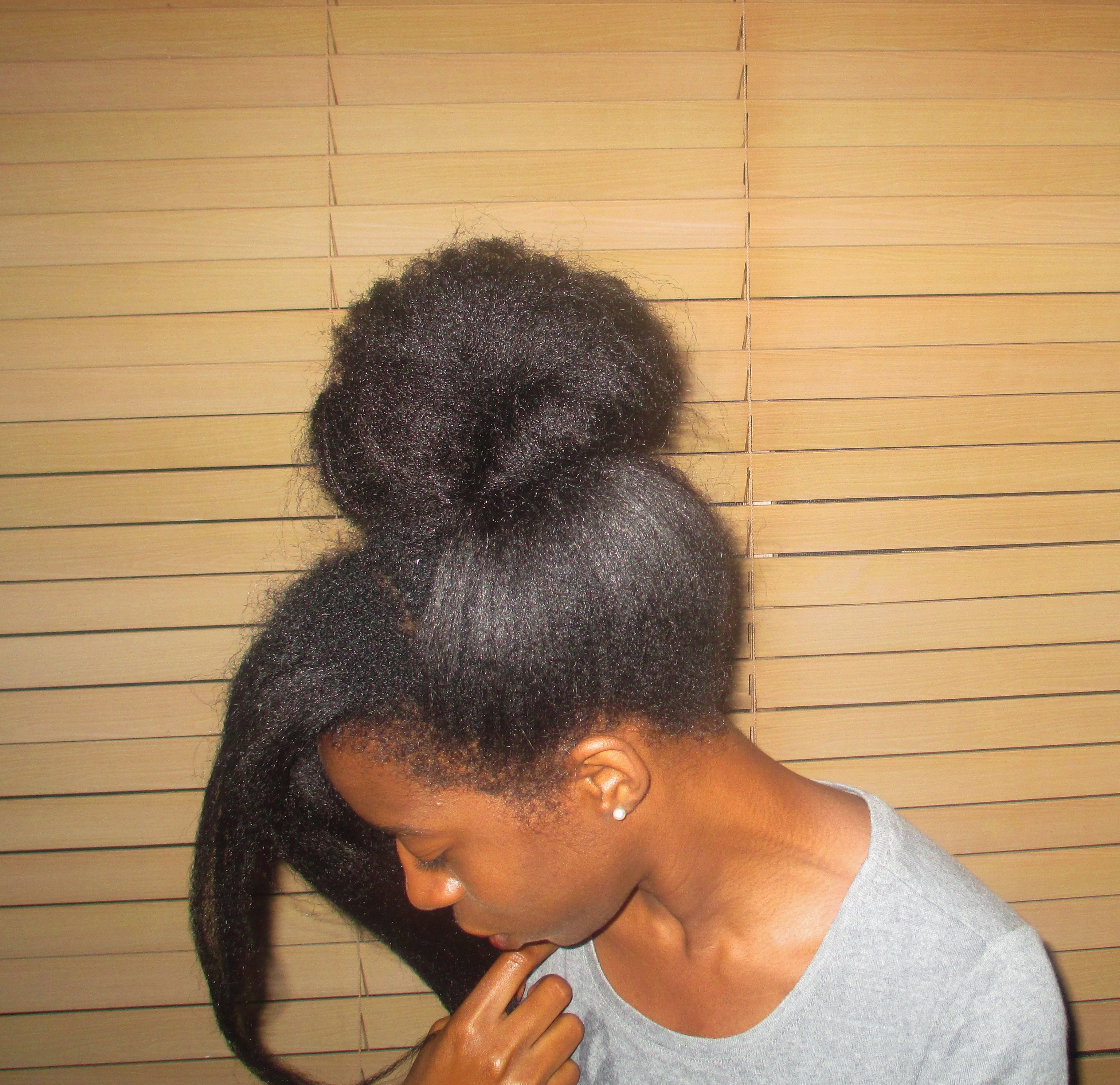 Fabulous Hairstyles For Relaxed Hair With New Growth Hairstyle Pictures Short Hairstyles Gunalazisus